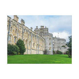 Windsor Castle view canvas print