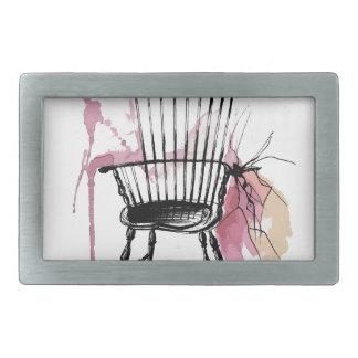 Windsor Chair Rectangular Belt Buckle