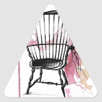 Windsor Chair Triangle Sticker