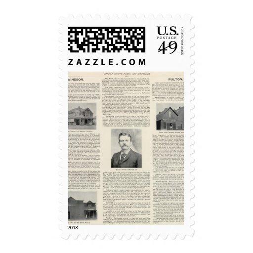 Windsor, Fulton, California Stamp