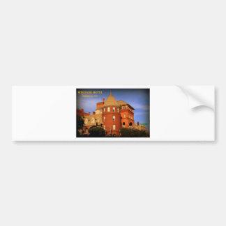 WINDSOR HOTEL, AMERICUS, GA BUMPER STICKER