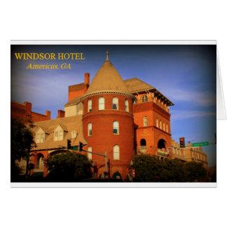 WINDSOR HOTEL, AMERICUS, GA CARDS