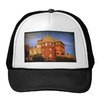 WINDSOR HOTEL, AMERICUS, GA MESH HATS
