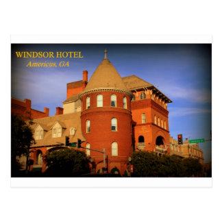 WINDSOR HOTEL, AMERICUS, GA POST CARD