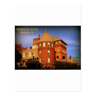 WINDSOR HOTEL, AMERICUS, GA POSTCARDS