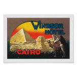 Windsor Hotel Cairo Poster