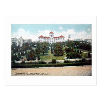 Windsor Hotel Jacksonville Florida Vintage Postcar Postcard