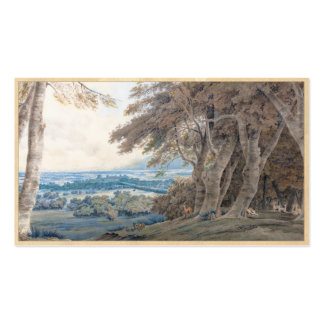 Windsor Joseph Mallord William Turner scenery art Double-Sided Standard Business Cards (Pack Of 100)