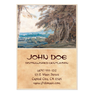 Windsor Joseph Mallord William Turner scenery art Large Business Cards (Pack Of 100)