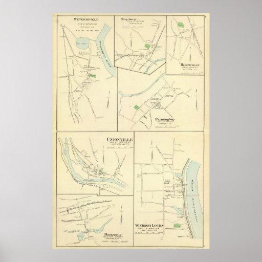 Windsor Locks Print