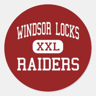 Windsor Locks - Raiders - High - Windsor Locks Classic Round Sticker
