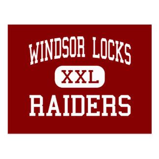 Windsor Locks - Raiders - High - Windsor Locks Postcard