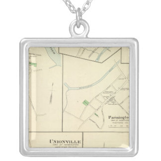 Windsor Locks Silver Plated Necklace