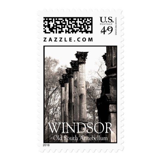 Windsor Ruins Antebellum Home Columns Postage