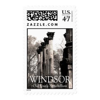 Windsor Ruins Antebellum Home Columns Stamp