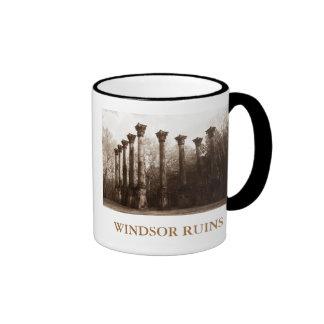 Windsor Ruins Historic Site - Mississippi Ringer Coffee Mug
