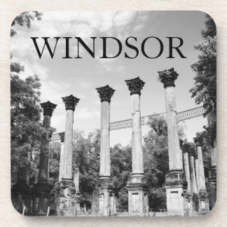 Windsor Ruins Mississippi Coffee Drink Coasters