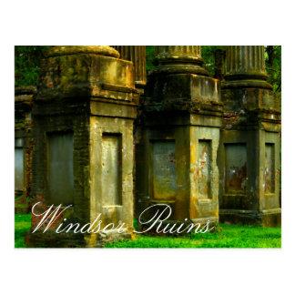 Windsor Ruins Mississippi Post Card