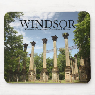 Windsor Ruins ~ MS Dept of Archives & History Mousepad