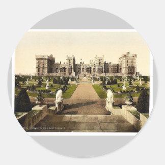 Windsor, terraza del este, Londres y suburbios, Etiqueta Redonda
