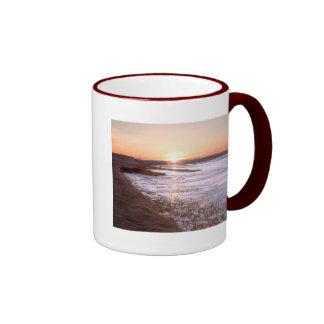 WindsorSunset, Sunset over Windsor, Nova Scotia Ringer Coffee Mug