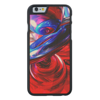 Windstorm Abstract Carved Maple iPhone 6 Slim Case