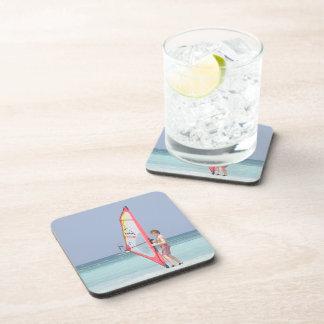 Windsurf Beginner Cork Coasters