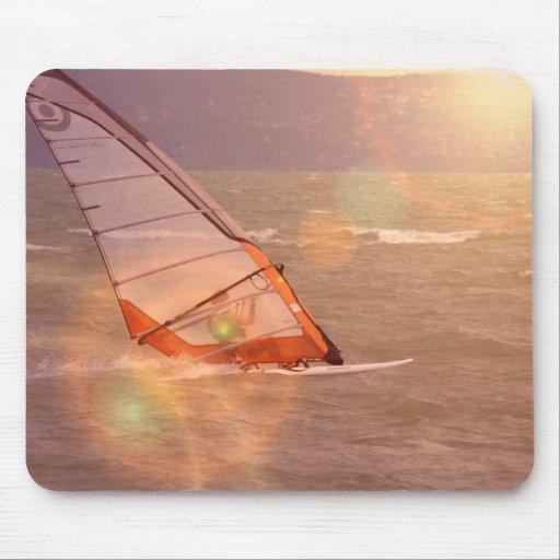Windsurf Design Mouse Pad