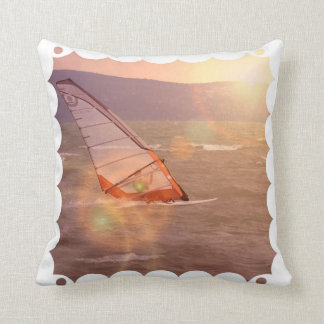 Windsurf Design Pillow