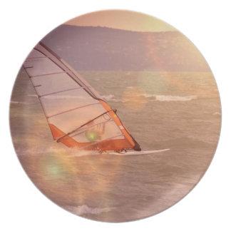 Windsurf Design Plate