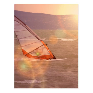 Windsurf Design Postcard