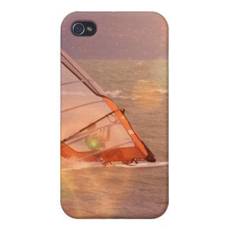 Windsurf el caso del iPhone 4 del diseño iPhone 4 Funda