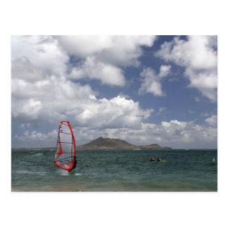 Windsurf en Hawaii Postal