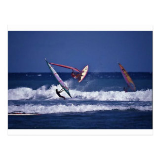 Windsurf Hawai i Postcard
