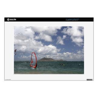 "Windsurf in Hawaii Zazzle Skin 15"" Laptop Decal"