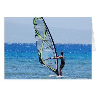 Windsurf las tarjetas de felicitación