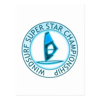 Windsurf Super Star Post Cards