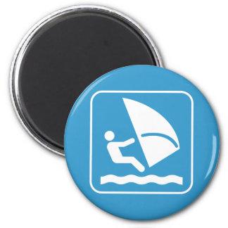 Windsurf Symbol Magnet