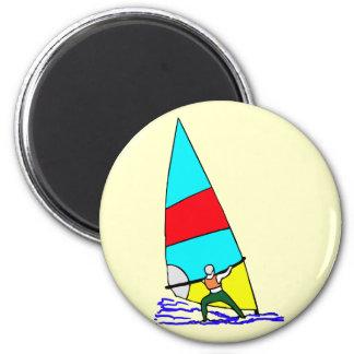 Windsurf Vivid Colors Magnet