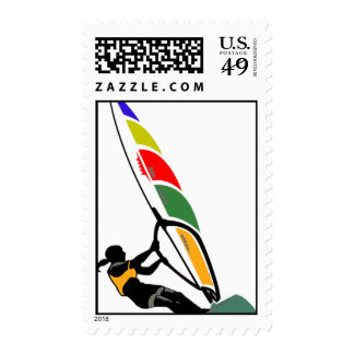 Windsurf with Excitement Stamps