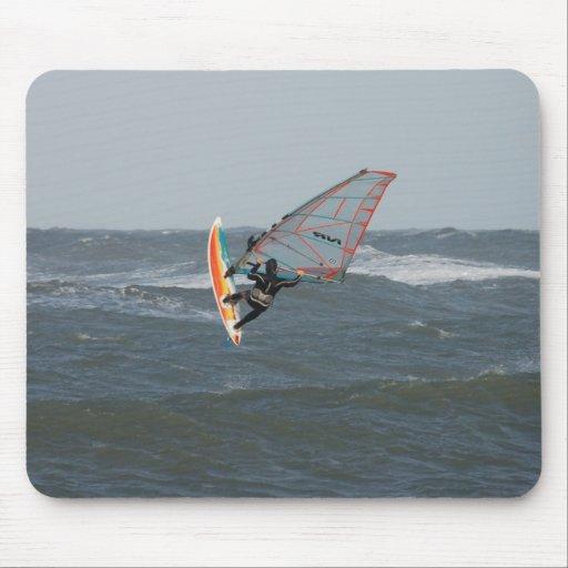 Windsurfer Mouse Pads