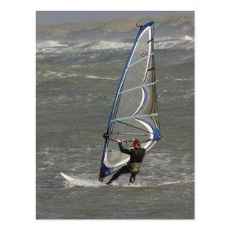 Windsurfer - North Jytland Denmark Postcard