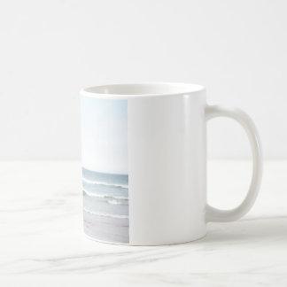 Windsurfer with Aqua and Pink Coffee Mug