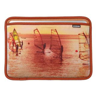 "Windsurfers on Horizon 11"" MacBook Sleeve"