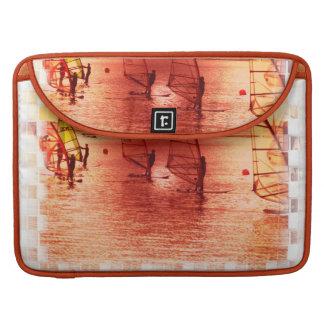 "Windsurfers on Horizon 15"" MacBook Sleeve MacBook Pro Sleeves"
