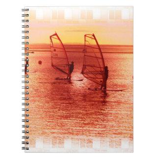 Windsurfers on Horizon Notebook
