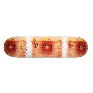 Windsurfers on Horizon Skateboard