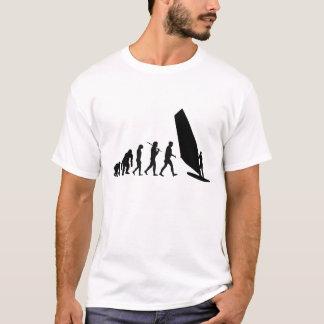 Windsurfers Windsurfing Evolution Sailboard Wind T-Shirt