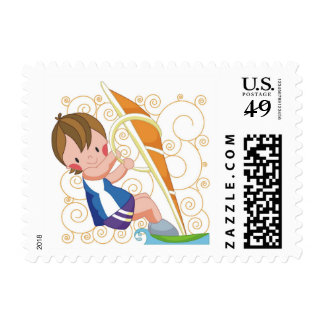 Windsurfing Gift Stamps