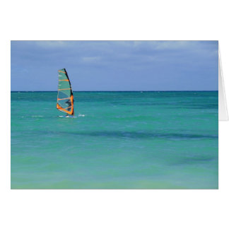 Windsurfing Hawaii Card